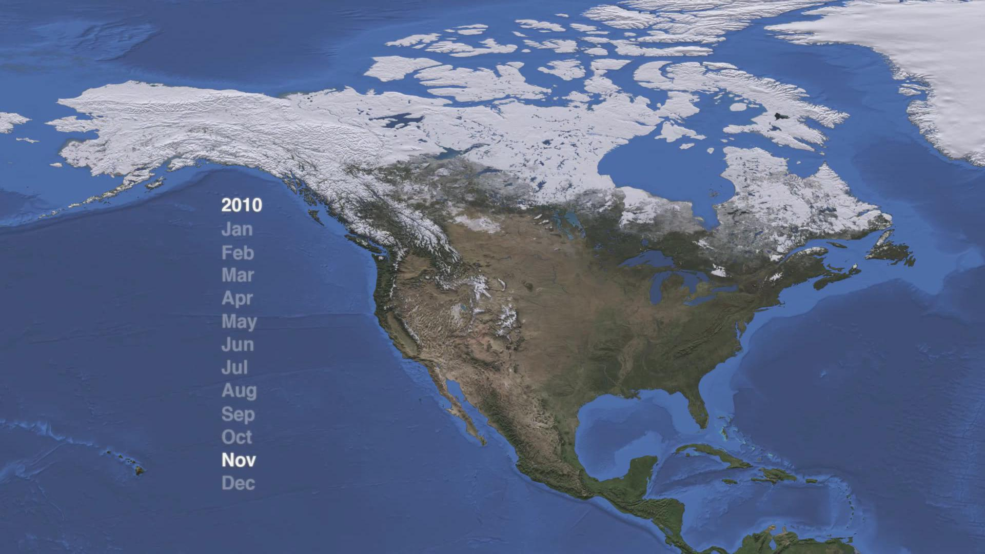 North America Snow Cover 2009-2012.ogv