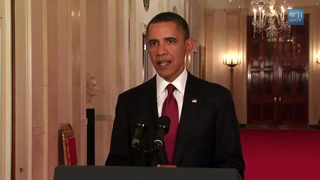 President Obama on Death of Osama bin Laden.ogv