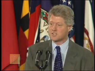 Remarks on the Signing of NAFTA (December 8, 1993) Bill Clinton.ogv