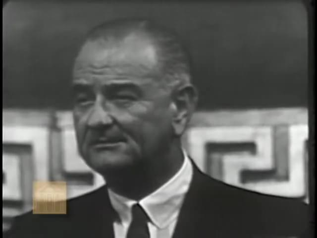 Remarks on the Signing of the Voting Rights Act (August 6, 1965) Lyndon Baines Johnson.ogv