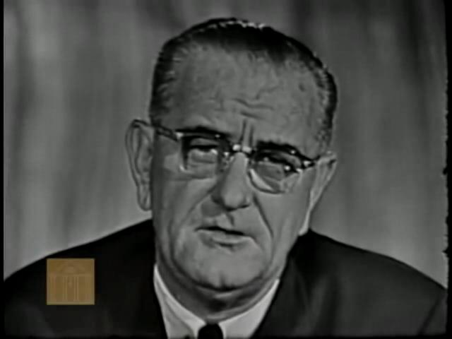 Remarks upon Signing the Civil Rights Bill (July 2, 1964) Lyndon Baines Johnson.theora.ogv