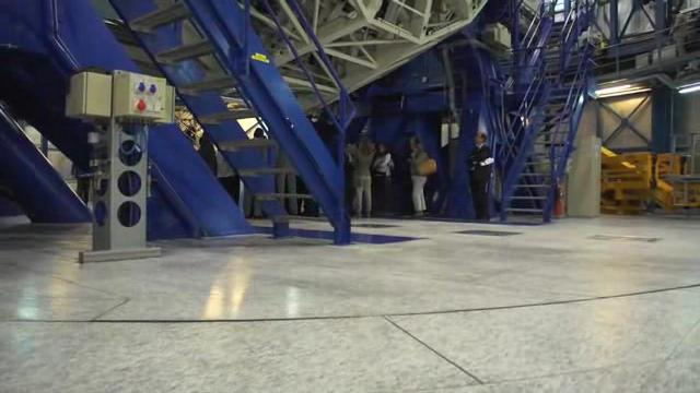 The visit of the Prince and Princess of Asturias to ESO's Paranal Observatory.ogv
