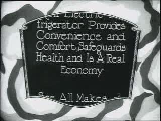 Theater commercial, electric refrigerator, 1926.ogg