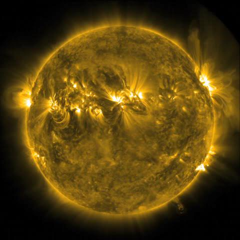 Wispy 'Plasma Dancer' on the limb of the Sun.ogv