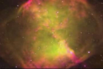 Zoom into Dumbbell Nebula 2003.ogv