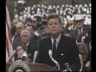 President Kennedy speech on the space effort at Rice University, September 12, 1962.ogg